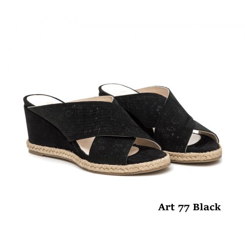 Women Shoews Art 77 Black