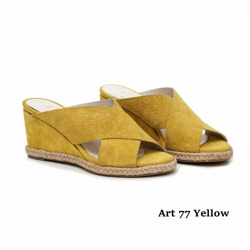 Women Shoes Art 77 Yellow