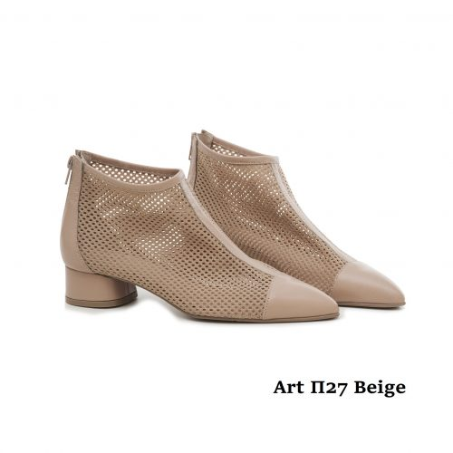 Women Shoes Art Π27 Beige