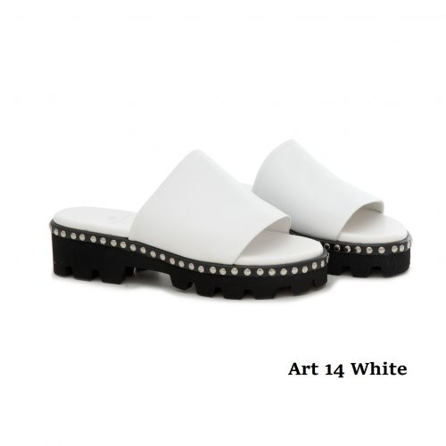 Women Shoes Art 14 White