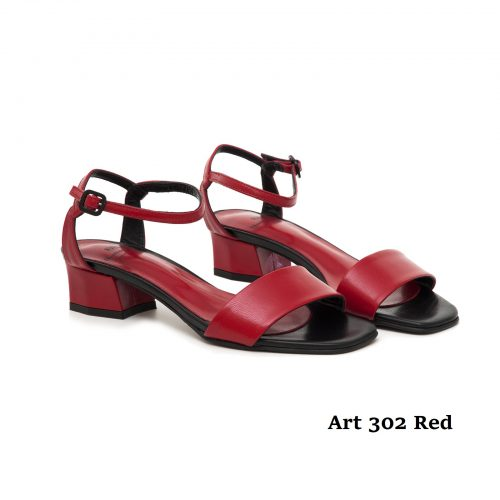 Women Shoes Art 302 Red