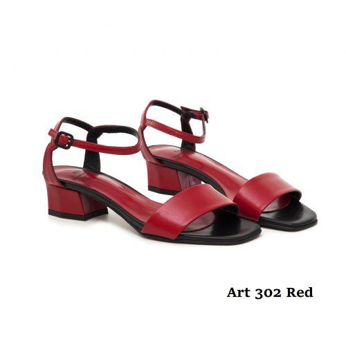Women Shoes Art 302 Red