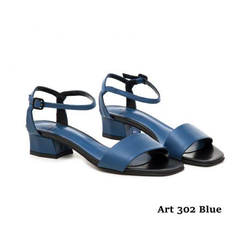 Women Shoes Art 302 Blue