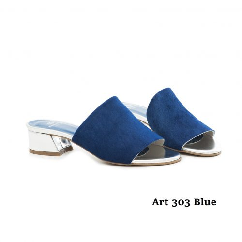 Women Shoes Art 303 Blue