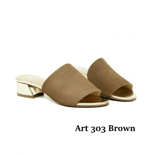 Women Shoes Art 303 Brown