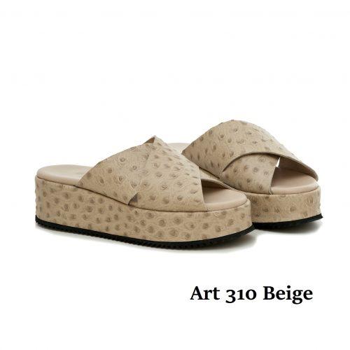 Women Shoes Art 310 Beige