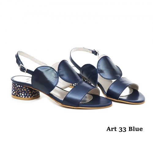 Women Shoes Art 33 Blue