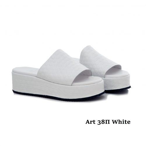 Women Shoes Art 38Π White