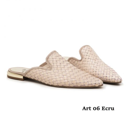 Women Shoes Art 06 Ecru
