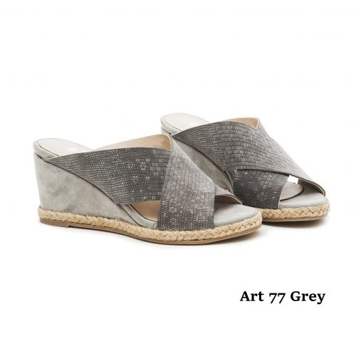 Women Shoes Art 77 Grey