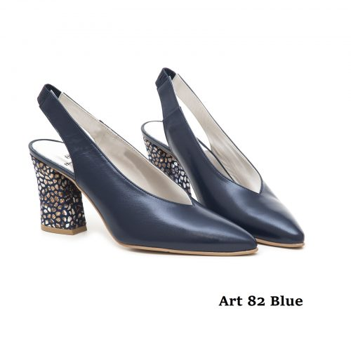 Women Shoes Art 82 Blue