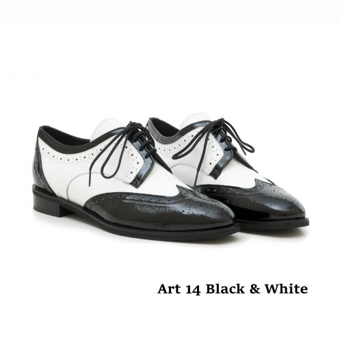 Women Shoes Art 14 Black White