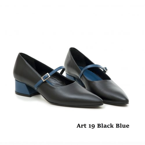 Women Shoes Art 19 Blue Black