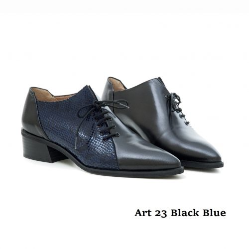Women Shoes Art 23 Black Blue