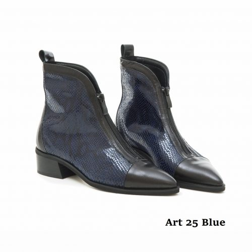 Women Shoes Art 25 Blue