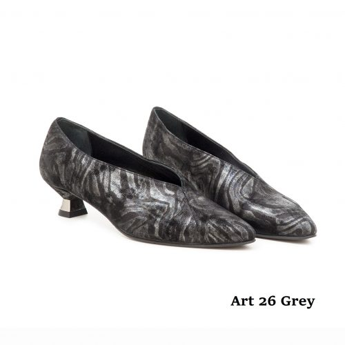 Women Shoes Art 26 Grey