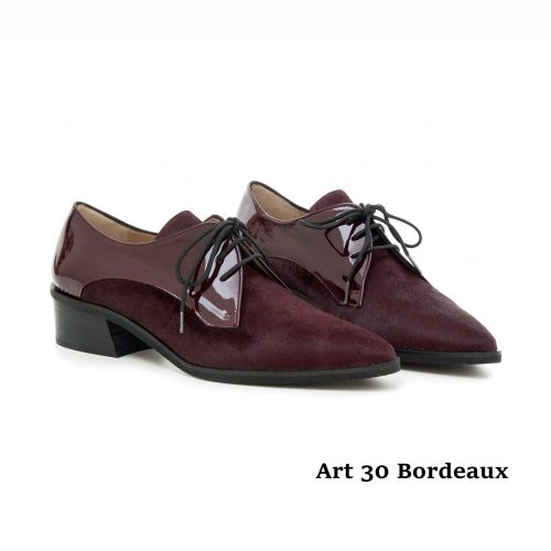Women Shoes Art 30 Bordeaux