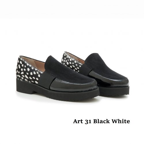 Women Shoes Art 31 Black White