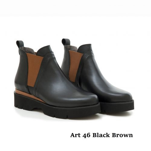 Women Shoes Art 46 Black Brown