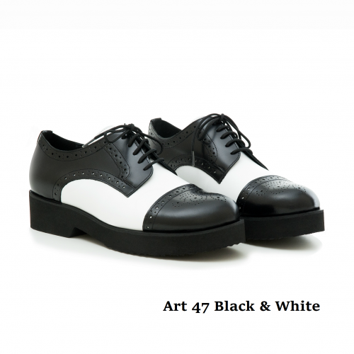 Women Shoes Art 47 Black & White