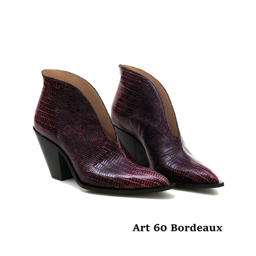 Women Shoes Art 60 Bordeaux