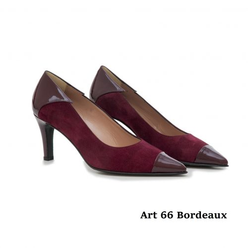 Women Shoes Art 66 Bordeaux