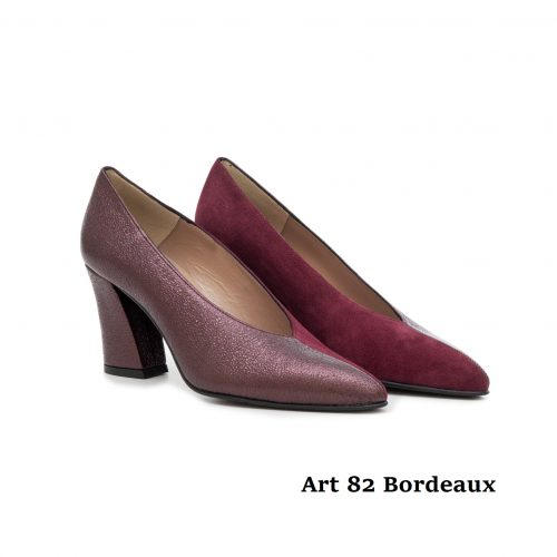 Women Shoes Art 82 Bordeaux