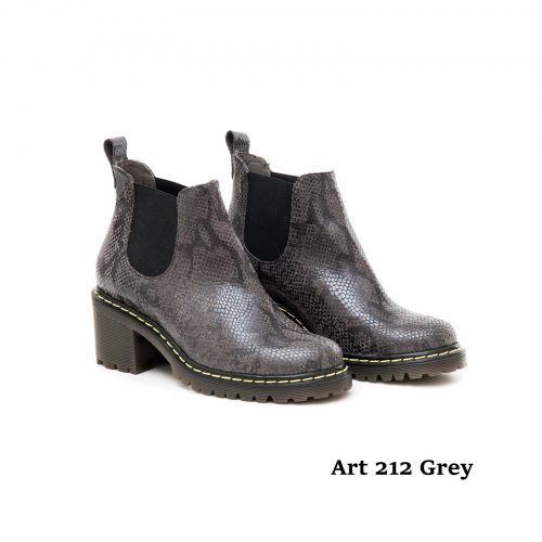 Women Shoes Art 212 Grey