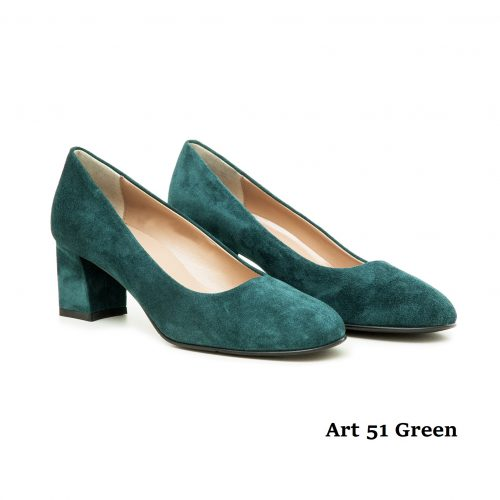 Women Shoes Art 51 Green
