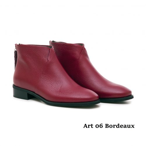 Women Shoes Art 06 Bordeaux