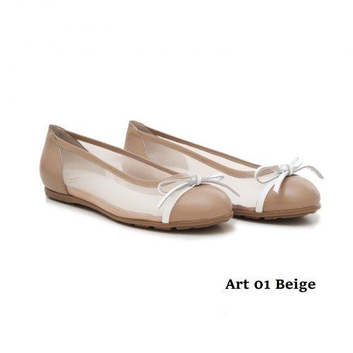 Women Shoes Art 01 Beige