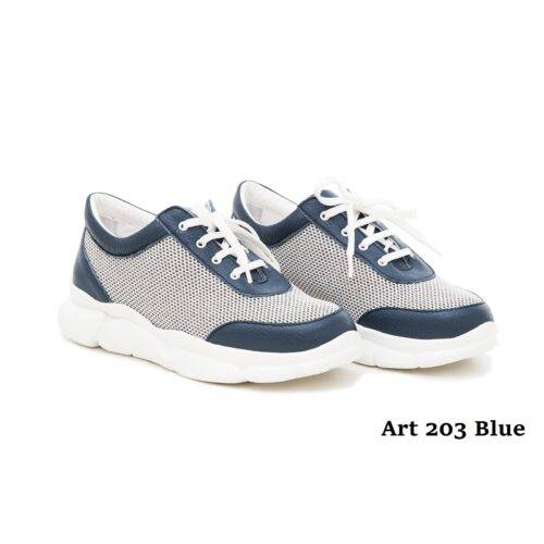 Women Shoes Art 203 Blue