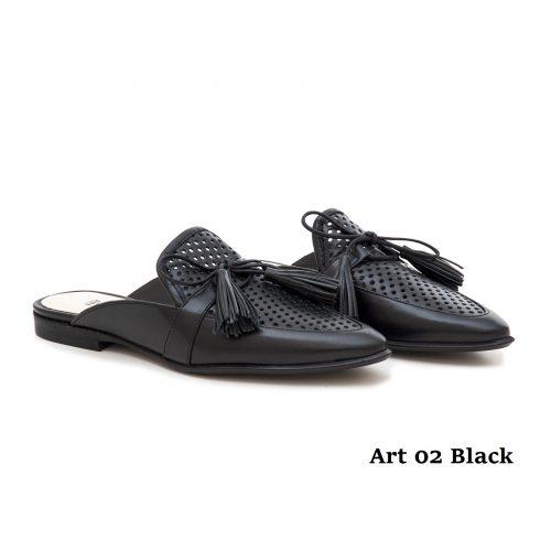 Women Shoes Art 02 Black