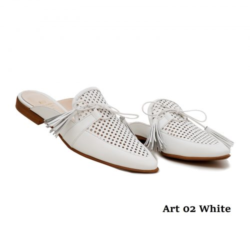 Women Shoes Art 02 White