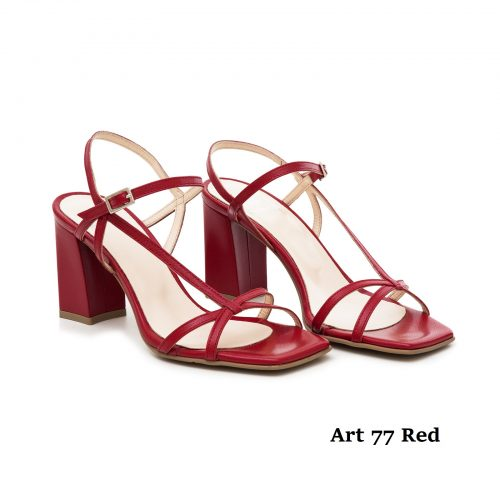 Women Shoes Art 77 Red