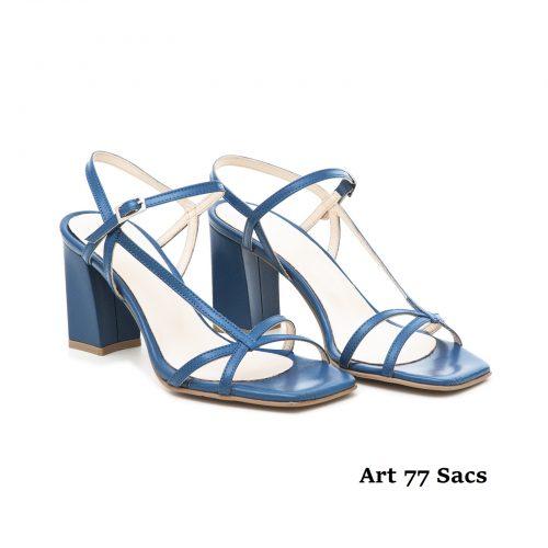 Women Shoes Art 77 Blue
