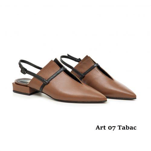 Women shoes Art 07 Tabac