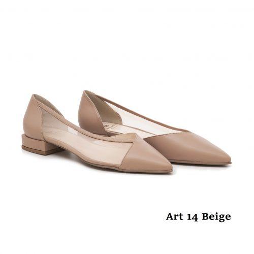 Women shoes Art 14 Beige