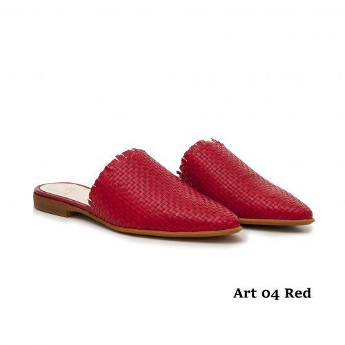 Women shoes Art 04 Red