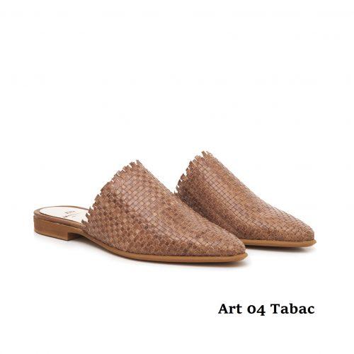 Women shoes Art 04 Tabac