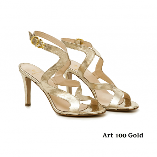 Women shoes Art 100 Gold