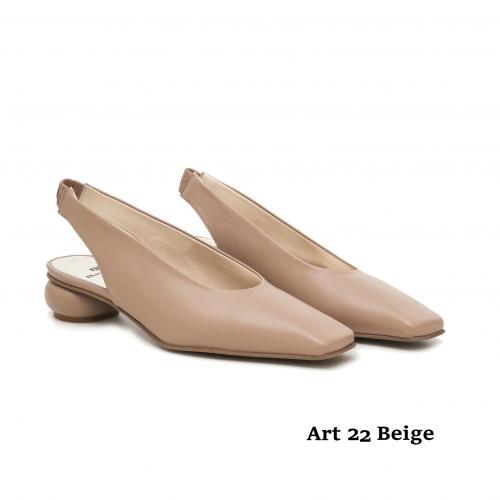 Women shoes Art 22 Beige