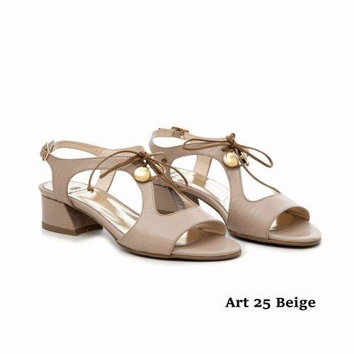 Women Shoes Art 25 Beige