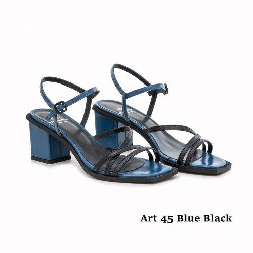 Women Shoes Art 45 Blue Black