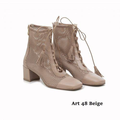 Women Shoes Art 48 Beige