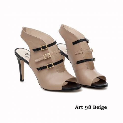 Women Shoes Art 98 Beige
