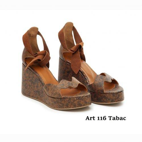 Women Shoes Art 116 Tabac