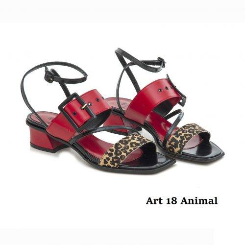 Women Shoes Art 18 Animal