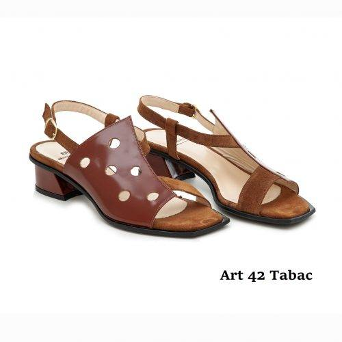 Women Shoes Art 42 Tabac