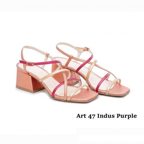 Women Shoes Art 47 Indus Purple